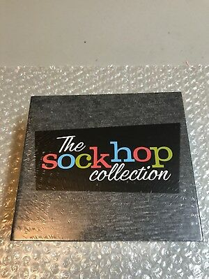 NEW The Sock Hop Collection Various Artist 8 CD Box Set Time Life 135 Hits