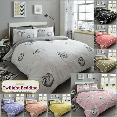 Double & King Lucy Floral Grey Quilt Duvet Cover Luxury Bedding Set Pillow Case