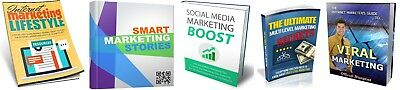 Five Marketing eBooks PDF ebooks Resell Rights Free Shipping