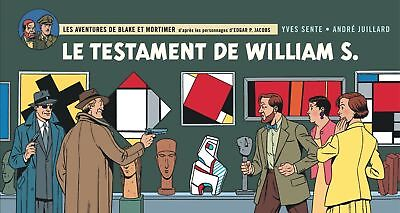 Eo Juillard + Sente Version Strip Blake Et Mortimer : Le Testament De William S