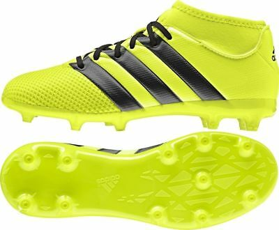 on sale 824b4 6b4e5 Adidas Ace 16.3 Primemesh Fg ag Scarpe Calcio Bambino Junior Aq3444  Yellow black