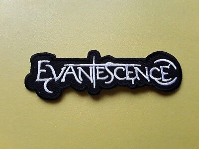 """EVANESCENCE Blue Iron On Sew On Embroidered Patch 4.7/""""x1.4/"""""""