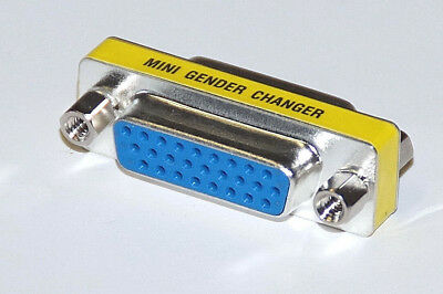 Gender Changer F / F   Buchse/Buchse  26 polig HD female / female  SUB-D Adapter