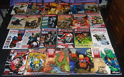 26 X Judge Dredd / The Megazine Comics,Year Books Joblot, Collection, UK Comic