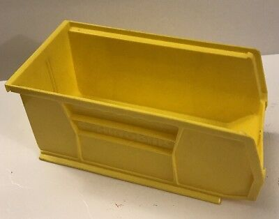AKRO-MILS 30230 YELLOW Hang/Stack Bin, 10-7/8 x 5-1/2 x 5,