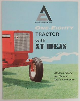 Allis-Chalmers One-Eighty Tractor with XT Ideas Foldout Brochure