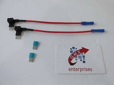 2 piggy back fuse add a circuit micro 2  blade fuse holder