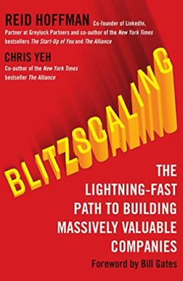 Reid Hoffman-Blitzscaling (UK IMPORT) BOOK NEW