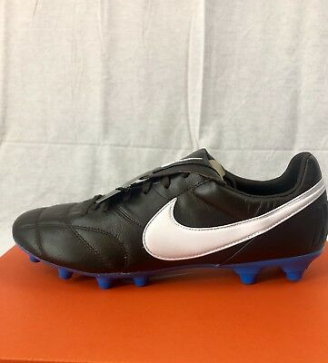 43a16341b Nike Premier II FG Soccer Cleats Premium Kangaroo Leather Men Sz 12 Woman  13.5