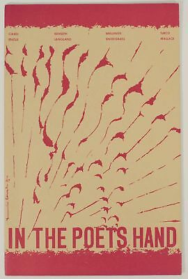 John CIARDI / In The Poet's Hand Poetry 1965 First Edition #151788