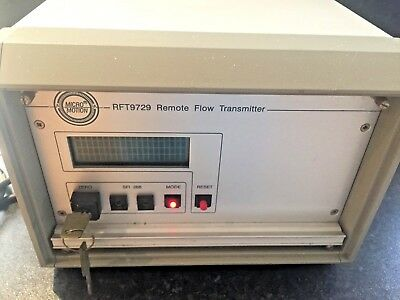 MICROMOTION RFT0729 REMOTE FLOW TRANSMITTER as per pics