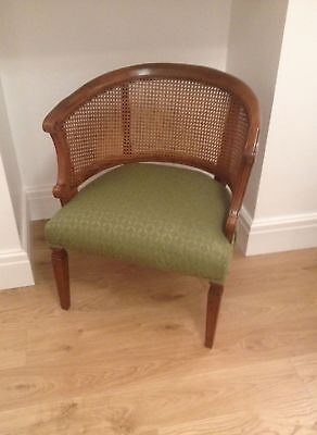 French Style Bergere Tub Chair - Good Condition