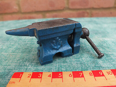 Vintage Small Jewllers /  Watch Makers / Modellers Anvil / Vice