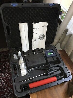 Wohler E 335Compact Residential/Light Commercial Combustion Analyzer UNTESTED