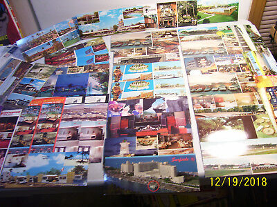 Lot of 38 Assorted Mixed Old Unused United States Large Panoramic View Postcards