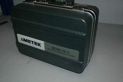 Ametek Calibration Instruments Model PKII Pneumatic Deadweight Tester PK2