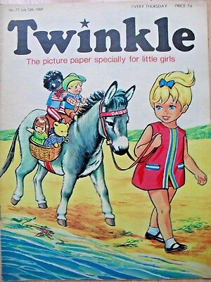 TWINKLE COMIC - 12th JULY 1969 (12th - 18th) - RARE 50th BIRTHDAY GIFT!!