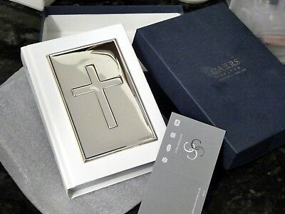 925 Sterling Silver Carrs Bible - Hallmarked NEW.UNUSED.BOXED