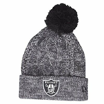 NEW ERA OAKLAND Raiders Beanie One Size Black - EUR 19 81dfb2b18
