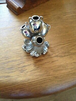 Silver Plate Posy Vase