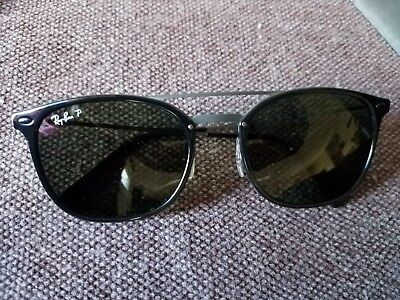 97403b0e17 Ray-Ban RB4286 New LiteRay Model Sunglasses 601 9A 55 Black Green Polarized  NEW