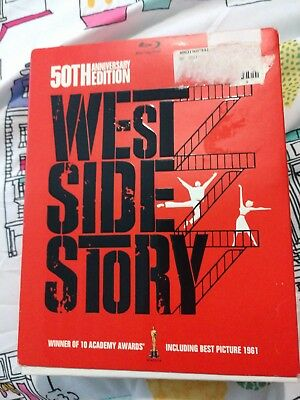 West Side Story (Blu-ray/DVD, 2011, 4-Disc Set, 50th Anniversary Edition