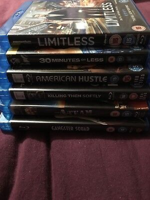 Blu Ray JobLot 6 Blu Rays Very Good Condition