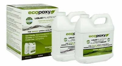 ECOPOXY LIQUID PLASTIC 4 L KIT (US 1 gallon) NEW - Authorized Retailer