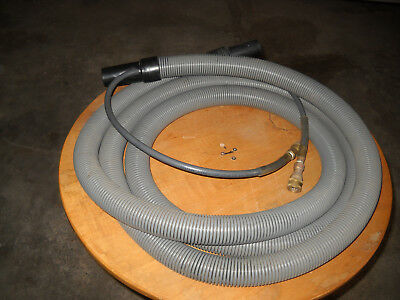 15' Carpet Cleaning Vacuum Hose with Built in Solution Hose