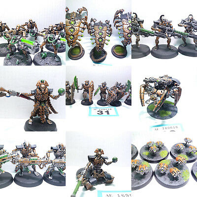 Warhammer 40k Painted Necron Army Worldwide Shipping Multi Listing