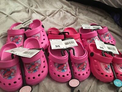 Job Lot Of My Little Pony And Trolls Girls Summer Sandals Beach  Assorted Sizes