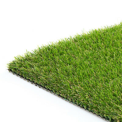 Ashbourne Artificial Grass Lawn Fake Realistic Green Garden CLEARANCE Astro turf