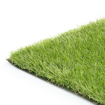 Elvaston Artificial Grass Lawn Fake Realistic Green Garden Quality Astro turf