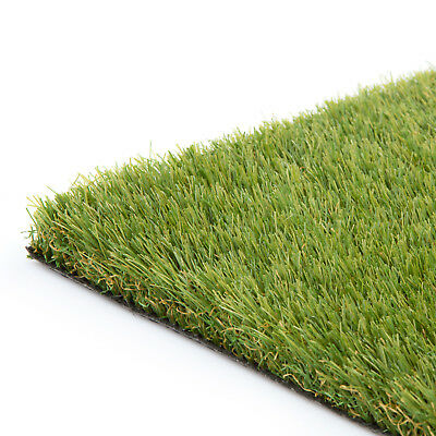 Kedleston Artificial Grass Lawn Fake Realistic Green Garden Astro Turf CLEARANCE