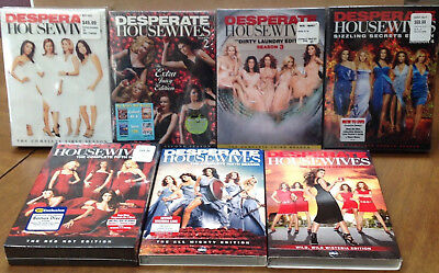 Desperate Housewives COMPLETE Series SEASON 1-7 DVD 1 2 3 4 5 6 7 = NEW/ SEALED
