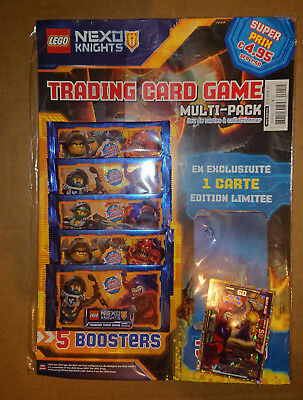 Trading Cards Game - Lego Nexo Knights - Multipack
