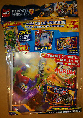 Trading Cards Game - Lego Nexo Knights - Starter Pack