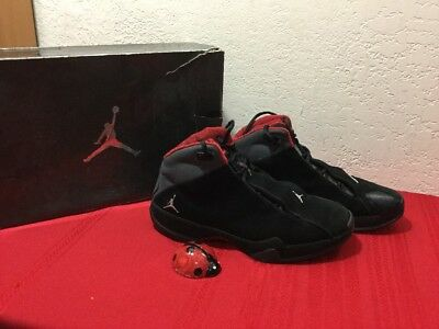 5dc874af851d Nike Air Jordan 21 XXI Black Metallic Silver Varsity Red Sz 9.5 314303-061