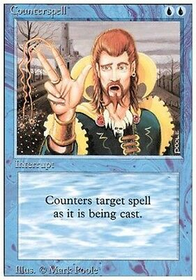 Counterspell Played // Revised // MTG Magic the Gathering