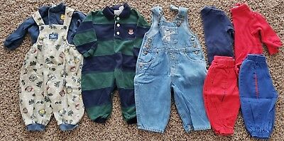 Lot of Boys Clothes Size 12M - Baby B'gosh, Bugle Boy, Buster Brown & More!