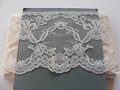 Card of New Wide Lace - Cream