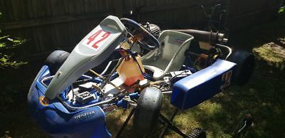 Rookie go kart ready to race vortex and Yamaha J motor. Excellent condition.