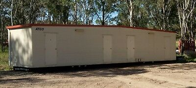 Transportable Building, 4 Bedroom Relocatable Donga, ATCO Brand, Cyclone Rated