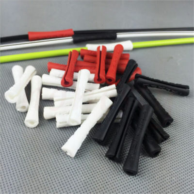 5/10X Silicone Bicycle Outer Brake Gear Cable Wrap Frame Protector MTB Road Bike