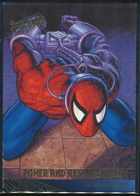 1995 Fleer Ultra Spider-Man Premiere Trading Card #93 Return of the Spider-Clone
