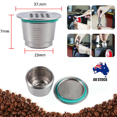 304 Stainless Steel Reusable Refillable Coffee Capsule Pod For Nespresso Coffee