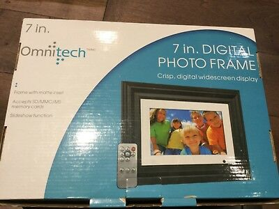Omnitech 7 in digital photo Picture frame