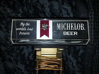 Michelob behind the bar/on the bar sign Vintage lite up