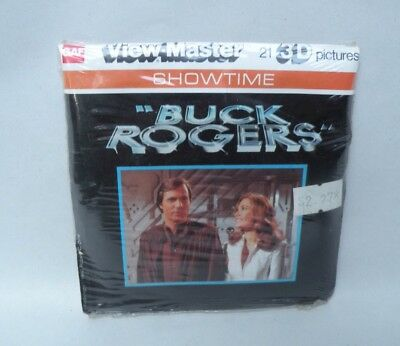 Sealed 1980 L15 Buck Rogers Gil Gerard TV Show Sci-Fi Viewmaster Packet Reels