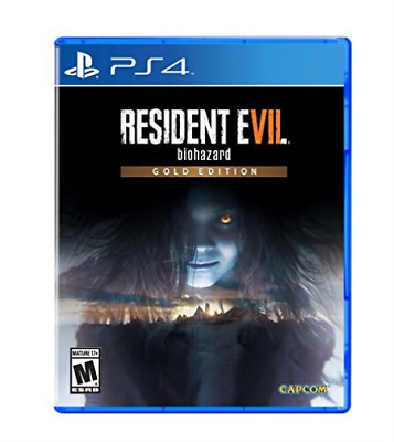 Ps4 Action-Resident Evil 7 Gold Ps4 Nuovo
